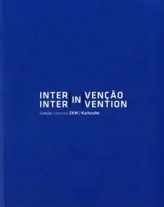 Blue book cover with white letters: Publication INTERINVENÇÃO