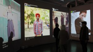 Realtime stories - mapping the free flow of information around the world in realtime - ZKM Karlsruhe