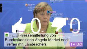 TV Bot - Bundestagswahl - Meinungskampf in den Sozialen Medien 1