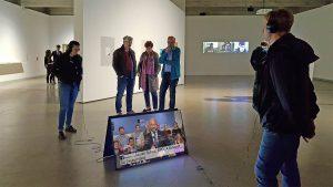 TV Bot - Bundestagswahl - Meinungskampf in den Sozialen Medien - Port25 – Raum für Gegenwartskunst, Mannheim